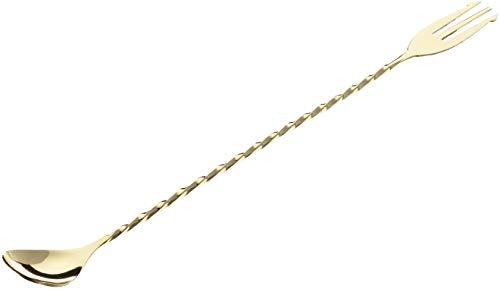 Barprofessional MGS0030 Trident - Cucharón (30 cm), color dorado