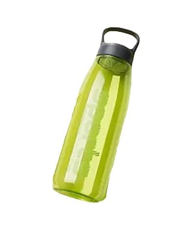 RYTR Botella de agua deportiva, botella de agua Tritan sin BPA/Cinta de goteo para escalar taza de gran capacidad-Lake Blue_1800ml/ para gimnasio, entrenamiento, viajes, oficina.