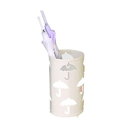 Gymqian Soporte de Paraguas de Metal, Soporte de Paraguas Paraguas de Pie Libre Redondo Paraguas de Diseño de Paraguas Soportes de Hierro Bastidor de Alenamiento Stand de Stand para la Oficina de Hot