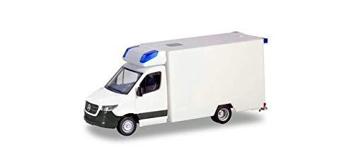 herpa 13710 MiniKit: Mercedes-Benz Sprinter Fahrtec RTW in Miniatur zum Basteln Sammeln und als Geschenk