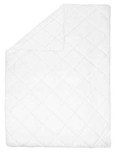 ZOLLNER Bettdecke, 135x200 cm, 100% Polyester, Füllgewicht ca. 2 x 550 g