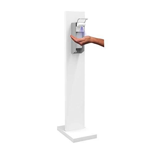 Hygienesäule Hand Desinfektionsstation MINI S | Desinfektionsmittelspender mit 500 ml