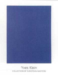 Kunstdruck/Poster: Yves Klein IKB 65
