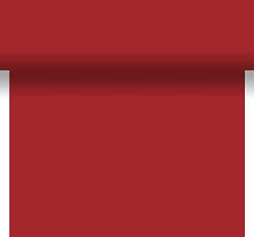 Duni TischläUfer 3 in 1 Uni rot 04x4,80m