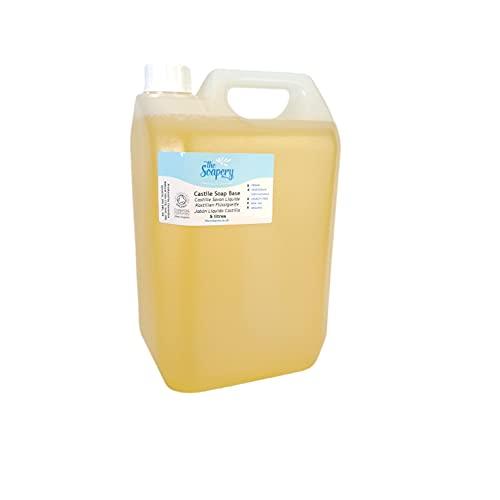 Castile Base Savon liquide 5l, biologique, sans sulfates, SLS, SLES et sans paraben