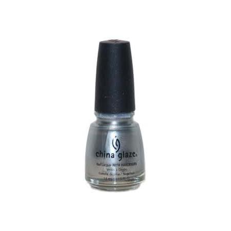 China Glaze Nail Polish, Platinum Silver 627