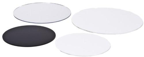 Kreiszuschnitt aus Acryl / Plexiglas®: transparent, 3mm XT, 40 cm Durchmesser
