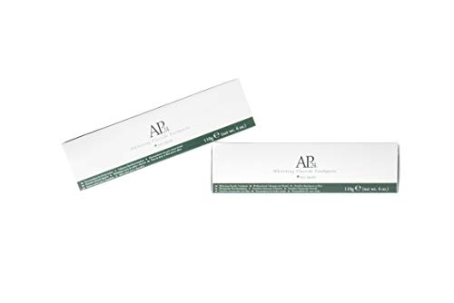 NU SKIN - AP-24 Whitening Toothpaste Sanfte Fluorid-Zahnpasta zum Aufhellen - Mundpflege Gesundheitsschädliche Peroxide - Frei von Perlweißer Zahnweißer x2