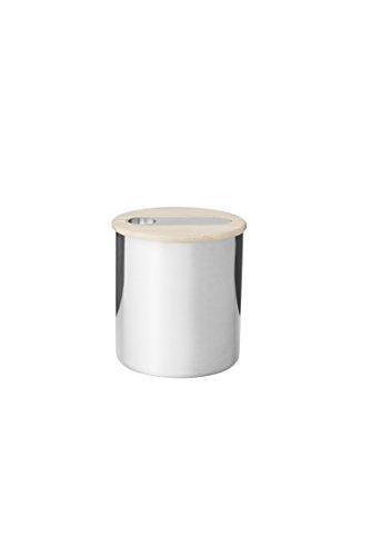 Stelton 511 Scoop Teedose mit Löffel - 0.3 kg - small 13 x 13 x 14 cm