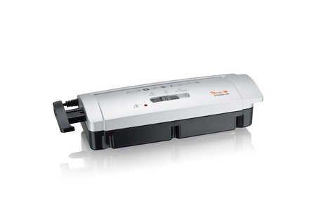 Peach PS400-00 Streifenschnitt Aktenvernichter | 6 Blatt | 7 mm Streifenbreite | schreddert Papier und Kreditkarten | platzsparender Aufsatz | für alle Papierkörbe mit 28-35 cm Durchmesser