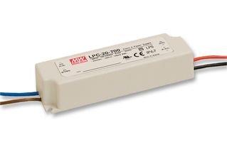 MEAN WELL LPC-35-700 adaptador e inversor de corriente Interior 35 W Blanco - Fuente de alimentación (Lighting, Interior, 110-230 V, 35 W, 48 V, Blanco)