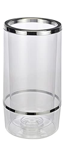 TS Exclusiv Flaschenkühler Weinkühler Sektkühler Doppelwandig 12 cm H = 23
