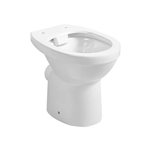 Primaster Stand-Tiefspül-WC Theta Tiefspüler spülrandlos Standtiefspül WC