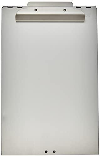 Westcott E-17003 00 Formularhalter-Box aus Aluminium, DIN A4, Großes Aufbewahrungsfach, Unten öffnend