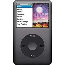 M-Player Apple iPod Classic 120GB Black 6th Generation Packed in White Box (Generic Accessories Included)