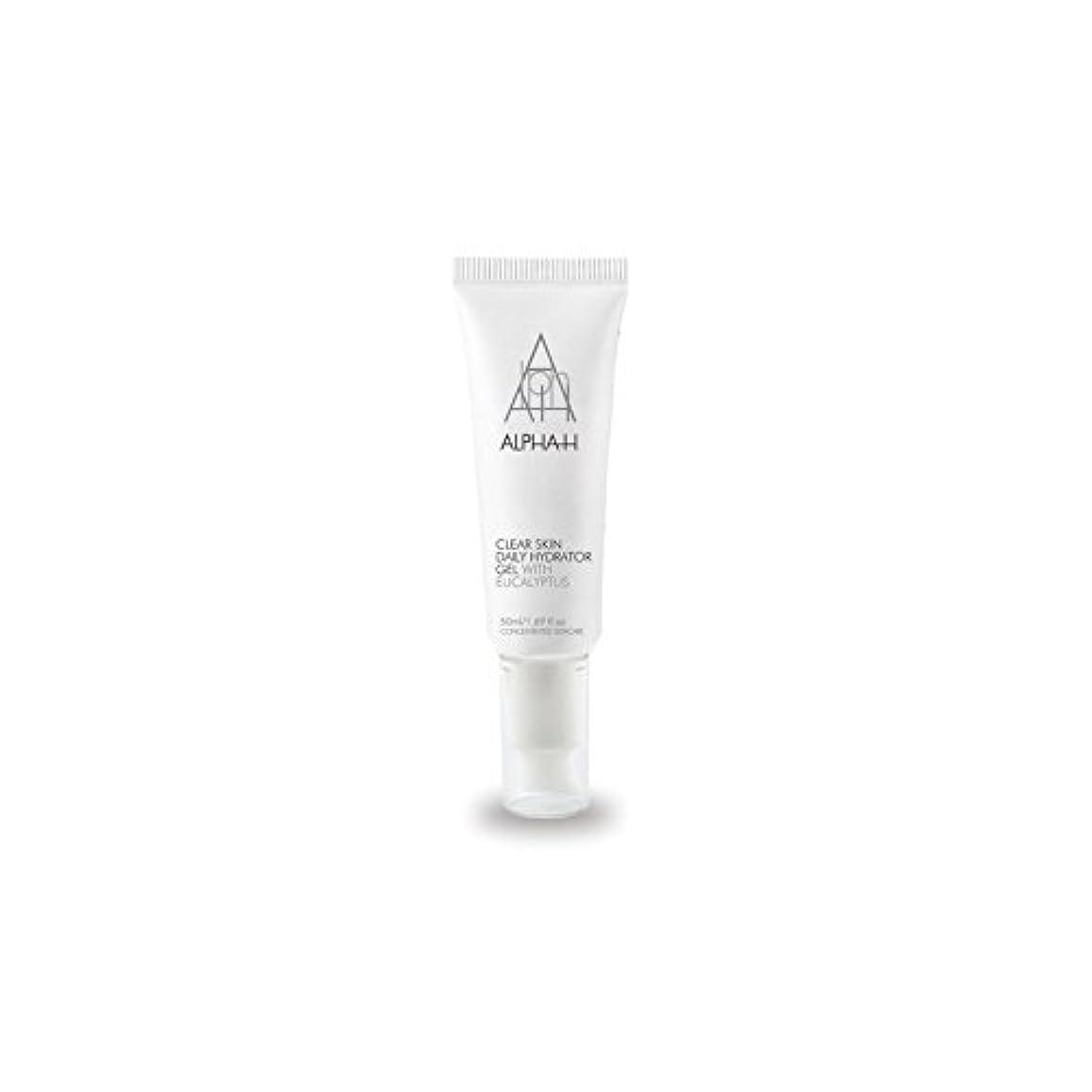 気難しい政治家の適格アルファクリア皮膚毎日ハイドレーターゲル(50)中 x4 - Alpha-H Clear Skin Daily Hydrator Gel (50ml) (Pack of 4) [並行輸入品]