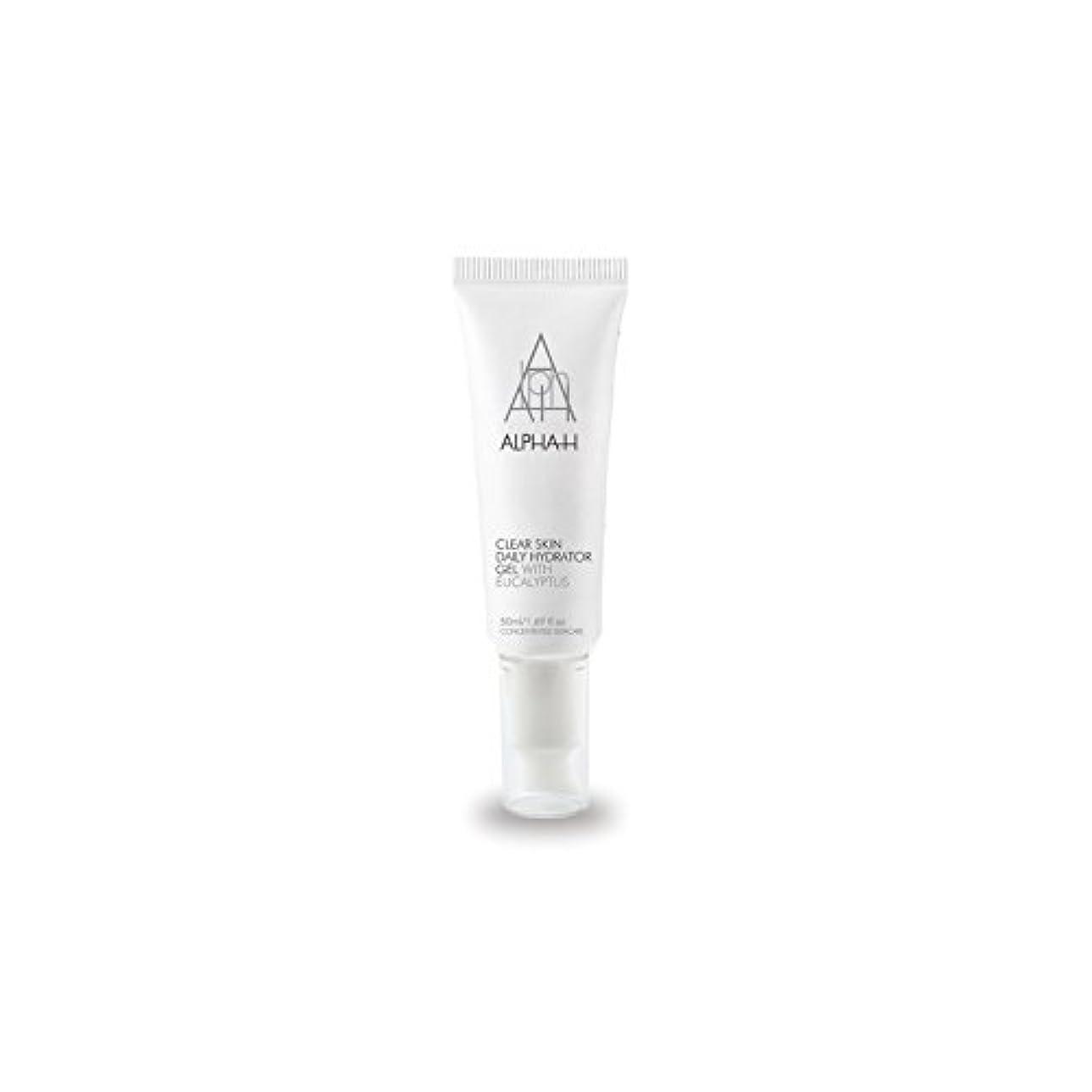 レプリカ故障一流Alpha-H Clear Skin Daily Hydrator Gel (50ml) (Pack of 6) - アルファクリア皮膚毎日ハイドレーターゲル(50)中 x6 [並行輸入品]