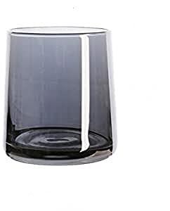 LJJJZS Taza de caféLinda portátil de laBotella de la Taza de té de Champagne del AguaTransparente de la Taza de Cristal