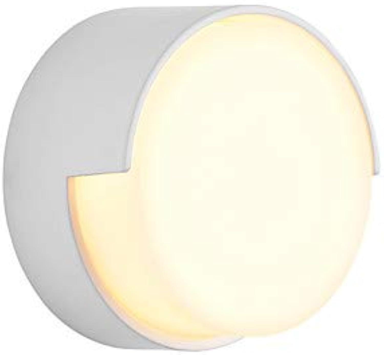 XGLL Wasserfest Ministil LED Moderne zeitgenssische Wandlampen Badezimmerbeleuchtung Drinnen Drauen Metall Wandleuchte IP54 85-265V 5 W