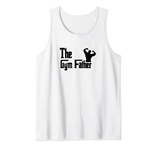 Hombre El padre del gimnasio - Funny Gym Dad Camiseta sin Mangas