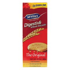 McVities Digestives wheat biscuits 400g x 2 boxes Imported from UK