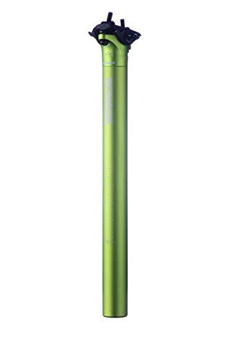 Sixpack Menace Fahrrad Sattelstütze 350mm x 27.2mm / 31.6mm grün: Größe: 31.6mm