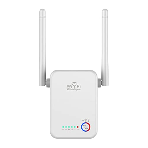 WiFi Extender Signal Booster Up to 2640sq.ft The Newest Generation, 2021 Release Wireless Internet Repeater, Long Range Amplifier with Ethernet Port, Access Point, 1-Tap Setup, Alexa Compatible N300