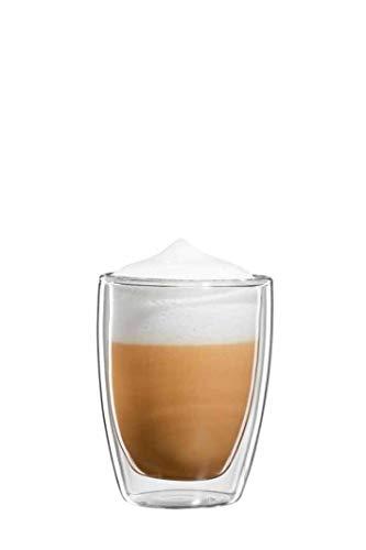 bloomix Roma Cappuccino 200ml, doppelwandige Thermo-Kaffeegläser im 2er-Set