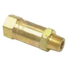"""Clippard MJCV-1BA Check Valve, 1/8"""" Ports Arrow on Valve Body Indicates Direction of Flow (Male-to-Female) from Clippard"""