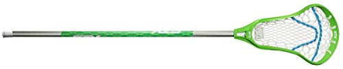 STX Lacrosse Crux 100 Complete Stick with Crux Mesh Pocket, Lizard