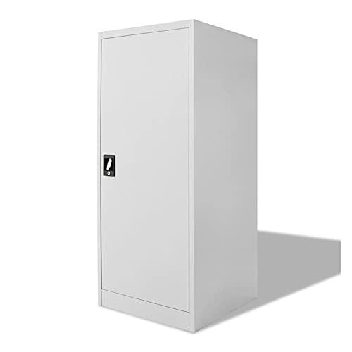 Office File Cabinet Locker Locking Large Storage Cabinet Metal Cabinets Home Saddle Cabinet 23.6'x23.6'x55.1' by paritariny