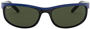 Ray-Ban 0RB2027 Gafas de Sol, Top Blue On Black, 62 para Hombre