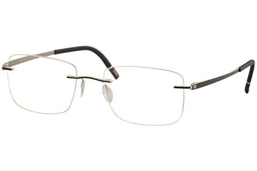 silhouette occhiali Silhouette Occhiali da vista Momentum Chassis 5529 9010 Telaio Ottico Titanio Nero