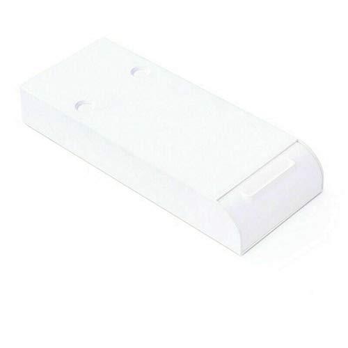 Schublade unter dem Tisch, durchschlagsfrei unter dem Schreibtisch-Lagerregal selbstklebende Organizer-Regalbox für das Home Office der Schule (Weiß)