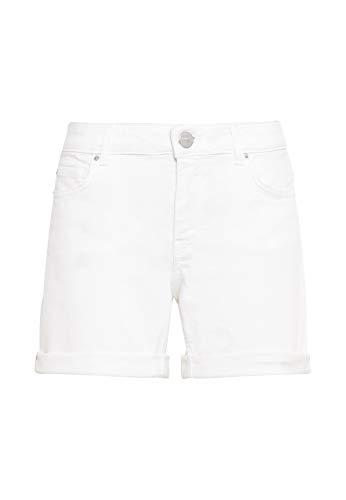 HALLHUBER Jeansshorts gerade geschnitten weiß, 42