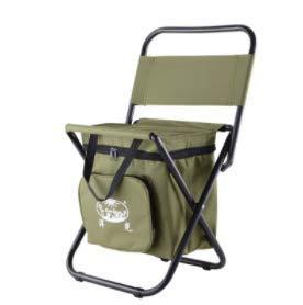 HoEOQeT Chaise Pliante extérieure Portable Chaise de pêche Auto-Conduite Tour Simple Mazar Tabouret de Sac de Glace Isolation Multi-Fonction