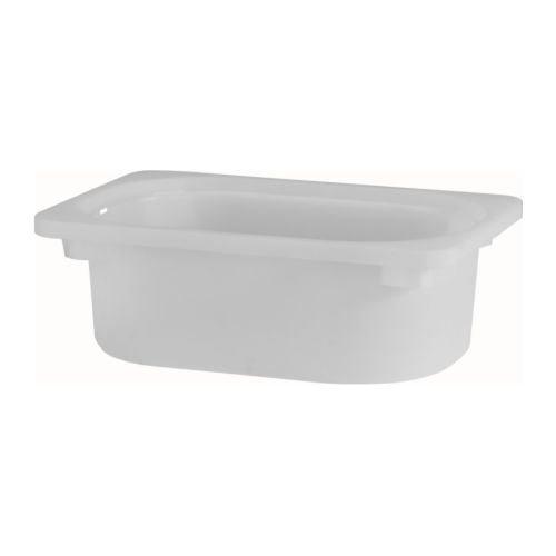 TROFAST–Caja de almacenamiento, color blanco