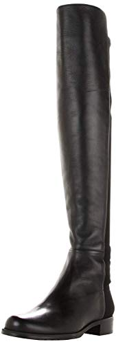 Stuart Weitzman Women's 5050 Over-the-Knee Boot,Black Nappa,5.5 M US