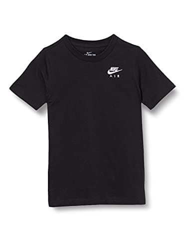 NIKE DD3418-011 U NSW tee Air MAX Essentials T-Shirt Boys Black/(White) L