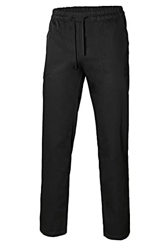 VELILLA 403006; pantalón de popelín con Cintas; Color Negro; Talla M