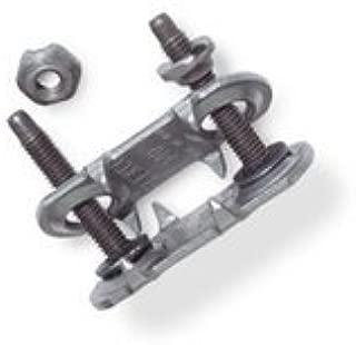 190 Conveyor Belt Fasteners, Steel, with BONUS Installation Nails (100 ct)