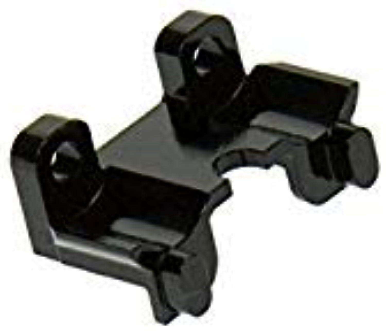 Traxxas 1 16 Mini erevo erevo erevo Upgrade Parts Aluminum Rear Shock Mount  1pc Black ae197c