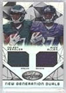 Buck Allen; Nelson Agholor #150/799 (Football Card) 2015 Panini Certified - New Generation Dual Jerseys #NG-USC