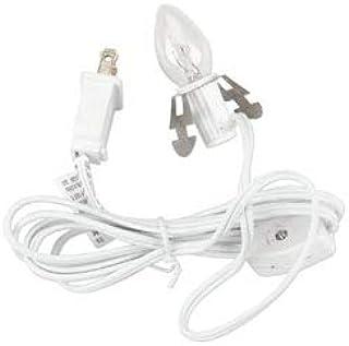 Bulk Buy: Darice Designer Clip Light 6 Feet White 6402 (6-Pack)