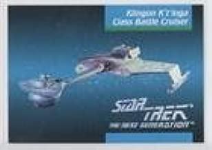 Klingon K't'inga Class Battle Cruiser (Trading Card) 1992 Impel Star Trek The Next Generation - [Base] #032
