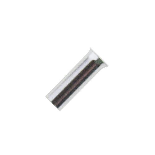 100x Aderendhülsen unisoliert 6,0mm² / 12mm blank