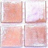 Vitreous Iridescent Mosaic Tiles 20mm Pink Pearl