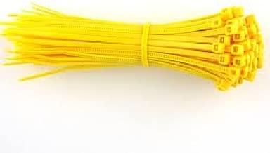 80/x amarillo fuerte pl/ástico Nylon Bridas 100/MM X 2,5/mm cremallera para coche Auto jard/ín