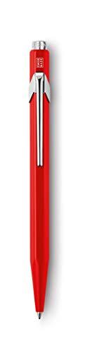 CREATIVE ART MATERIALS Caran D'ache Ballpoint Pen, Metal Red (849.070)