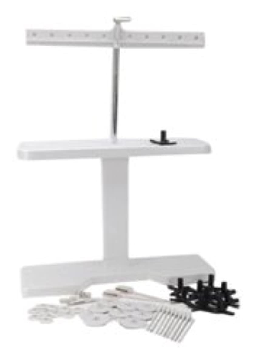 Shoppers Rule The 10 Spool Thread Stand-Grey ovpfwx3086